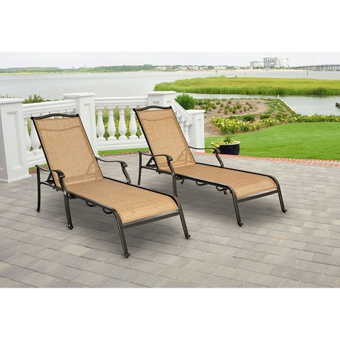 Monaco 2PC Chaise Lounge Set - MONCHS2PC