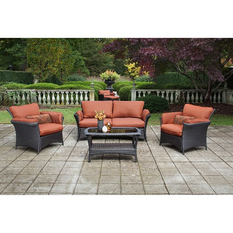 Strathmere Allure 4PC Seating Set - STRATHALLURE4PC