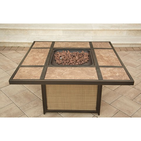 Traditions Tile Top Fire Pit - TRADTILE1PCFP