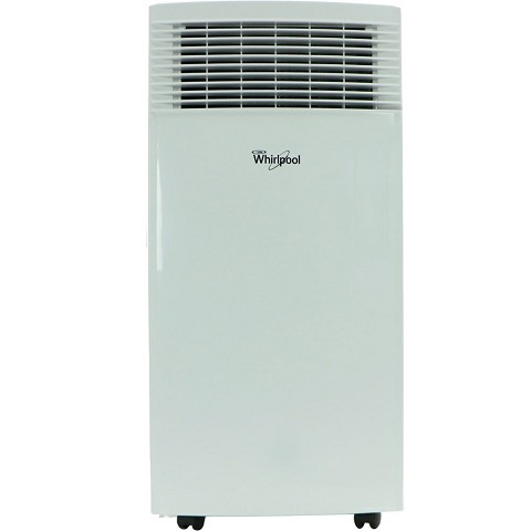 Whirlpool 8,000 BTU Single-Exhaust Portable Air Conditioner with Remote Control in White - WHAP081AW