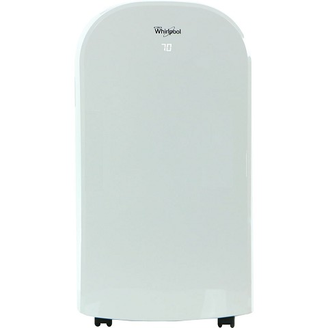 Whirlpool 13,000 BTU Portable Air Conditioner with Heat Function and Remote in White - WHAP13HAW