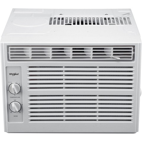 Whirlpool 5,000 BTU Window Air Conditioner with Mechanical Controls - WHAW050BW