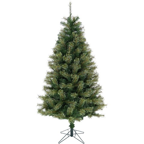 Christmas Time 6.5-Ft Vermont Pine Green Christmas Tree with Metal Stand, CT-VP065-NL
