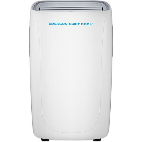 Emerson Quiet Kool SMART Heat/Cool Portable Air Conditioner with Remote, Wi-Fi, and Voice Control for Rooms up to 400-Sq. Ft., EAPE12RSD1