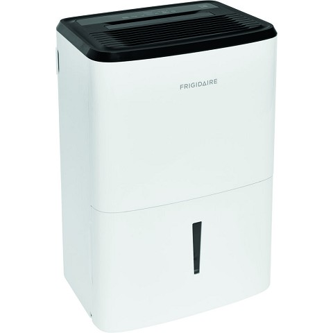 Frigidaire Energy Star 50-Pint Dehumidifier with Effortless Humidity Control, White, FFAD5033W1E