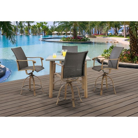 Hermosa Bar Chairs (Set of 2) - 13057-B