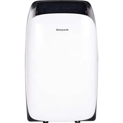 Honeywell Portable Air Conditioner with Heater, Dehumidifier & Fan Cools Rooms Up To 700 Sq. Ft. with Remote Control (White and Black), HL14CHESWK