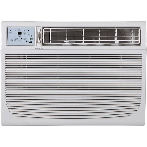 "Keystone Energy Star 15,100 BTU 115V Window/Wall Air Conditioner with ""Follow Me"" LCD Remote Control, KSTAW15CE"