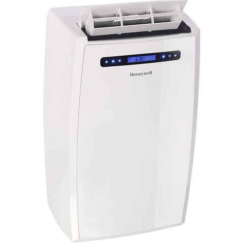 Honeywell MN Series Portable Air Conditioner with Dehumidifier Cools Rooms up to 700-Sq. Ft. - White, MN14CCSWW