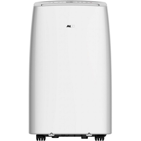 "Aux 115V Portable Air Conditioner with ""Follow Me"" Remote Control for Rooms up to 350-Sq. Ft., NA-14K"