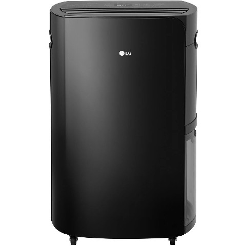 LG PuriCare 2019 Energy Star 50-Pint Dehumidifier in Black, UD501KOG5