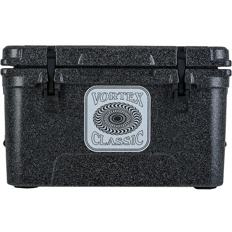 Vortex Classic Series 45-Quart Rotational-Molded Cooler in Basalt, VC45BAS