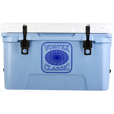 Vortex Classic Series 45-Quart Rotational-Molded Cooler in Cerulean, VC45CRN