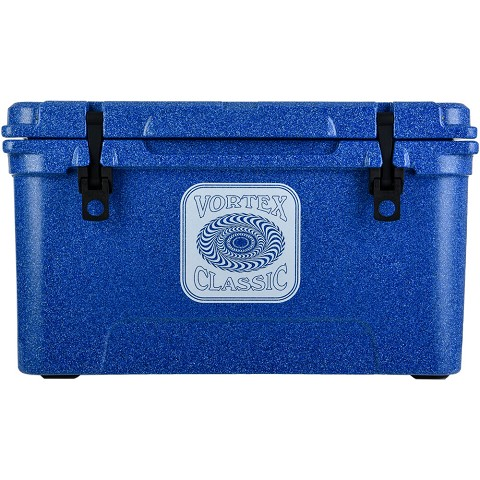 Vortex Classic Series 65-Quart Rotational-Molded Cooler in Azurite, VC65AZE