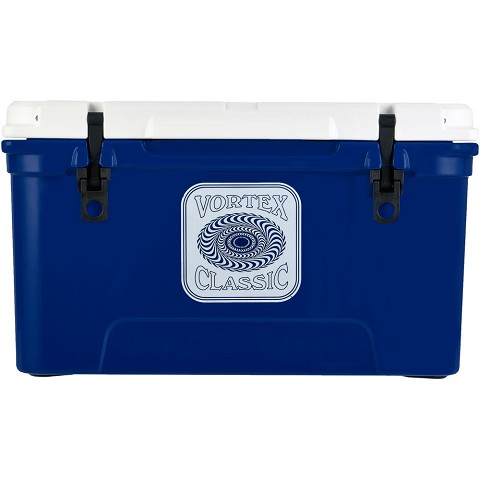 Vortex Classic Series 65-Quart Rotational-Molded Cooler in Navy, VC65NVY