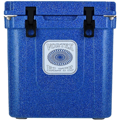 Vortex Elite Series 33-Quart Rotational-Molded Customizable Cooler System in Azurite, VE33AZE