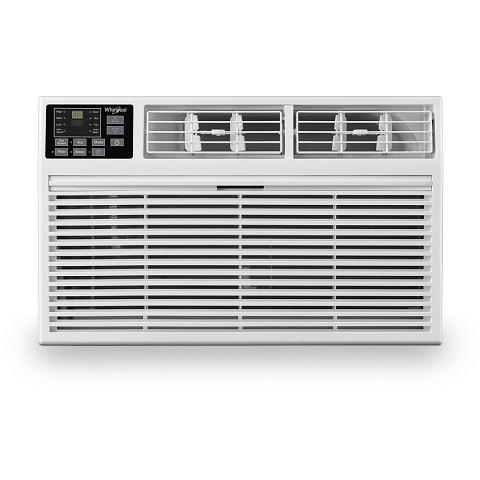 Whirlpool Energy Star 12,000 BTU 230V Through-the-Wall Air Conditioner with Remote Control, WHAT122-2AW